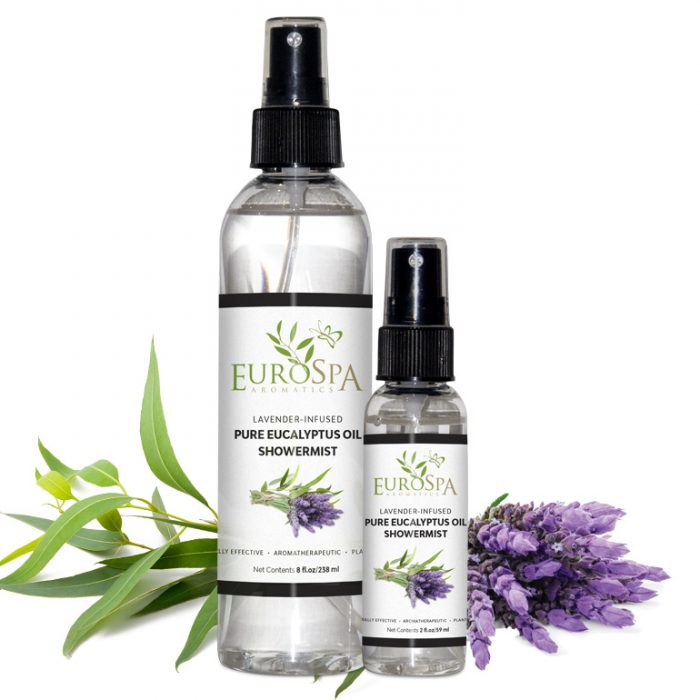 Lavender-Infused Pure Eucalyptus Oil ShowerMist