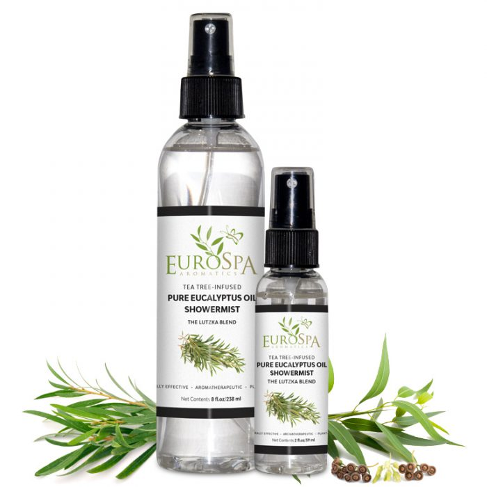 Tea Tree-Infused Pure Eucalyptus Oil ShowerMist