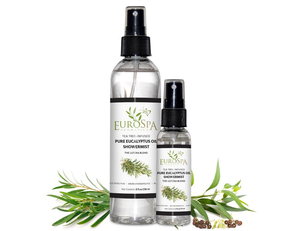 Tea Tree-Infused Pure Eucalyptus Oil ShowerMist