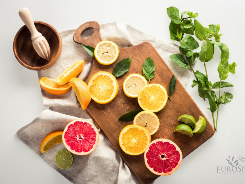4 Benefits of Citrus Essential Oils